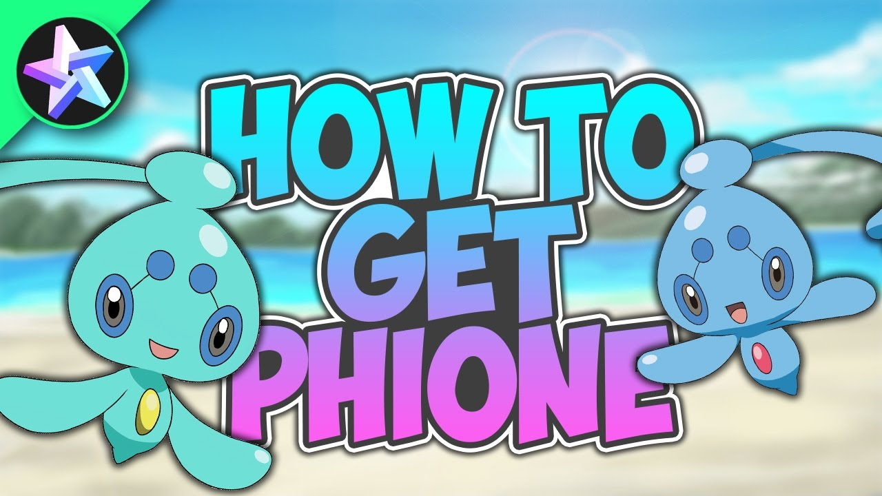 How To Get Phione Pokemon Brick Bronze Youtube