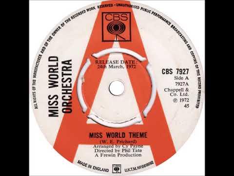 MISS WORLD THEME 1970'S / CY PAYNE