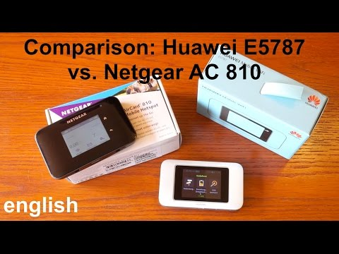 Huawei E5788 VS E5787 - Which Huawei 4G Hotspot is better to