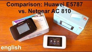 Comparison: Huawei E5787 vs. Netgear AC810 (english)