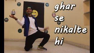 ghar se nikalte hi dance choreography | armaan malik | lyrical | goran the bolt