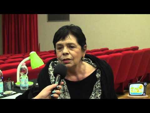 La grande danzatrice Elisabetta Terabust al microfono di Claudia