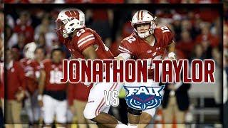 Jonathon Taylor Highlights vs Florida Atlantic // 26 Carries for 223 Yards, 3 TDs // 9.09.17