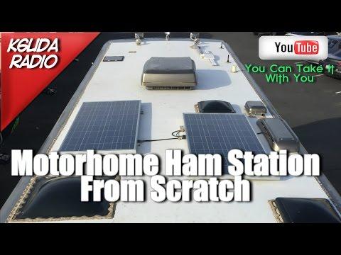 Building a Motorhome Ham Station From Scratch - K6UDA Radio Episode 45
