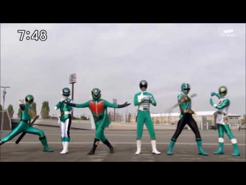 Gokaiger all green change(St. Patrick's Day special)