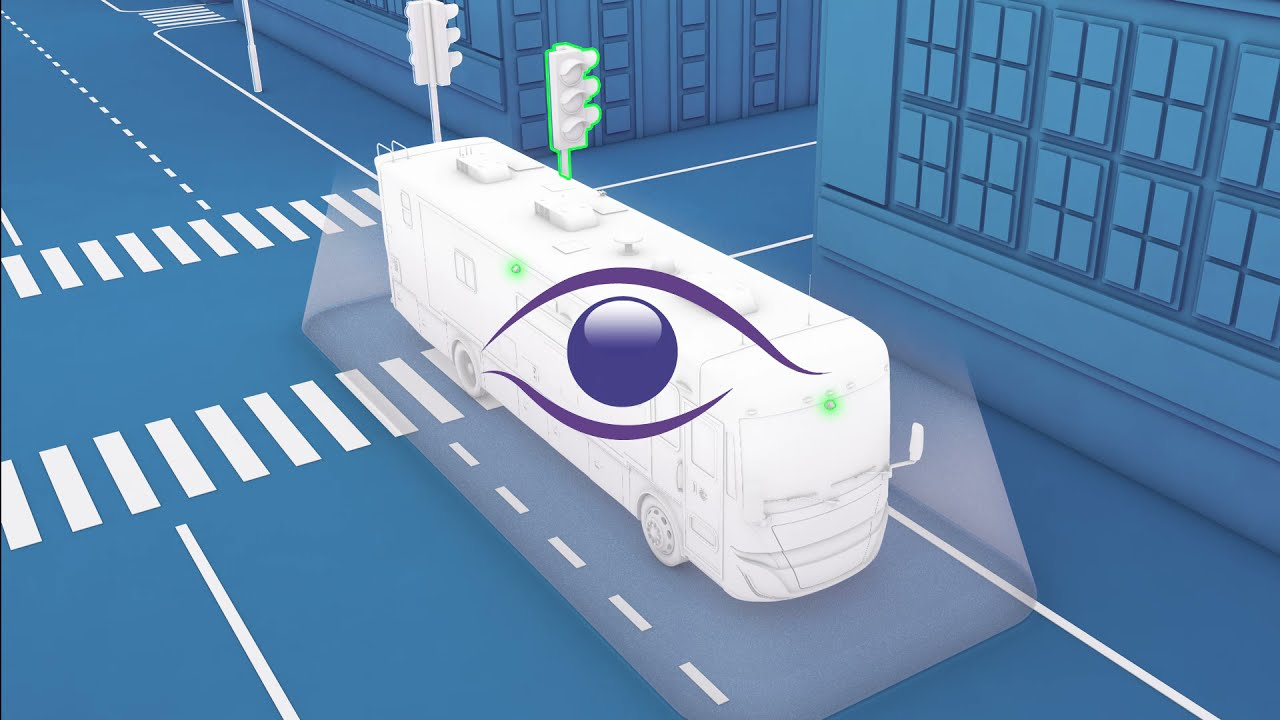 New Motorhome 360 SV Animation