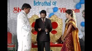 Telugu Christian Wedding Song - Vikram Kumar Weds Anusha Joshi