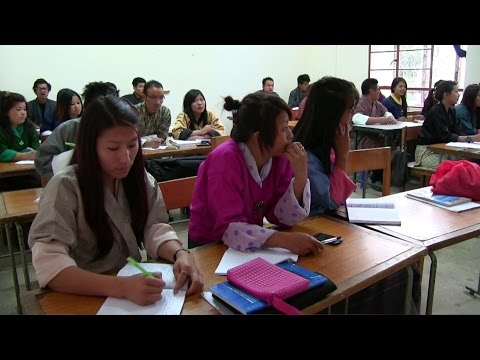 "Sherubtse college builds ""the future we want"" in Bhutan"