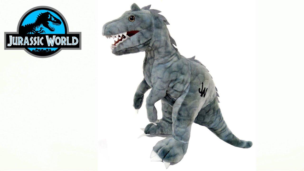 Dinosaure peluche jurassic world youtube - Dinosaure jurassic world ...