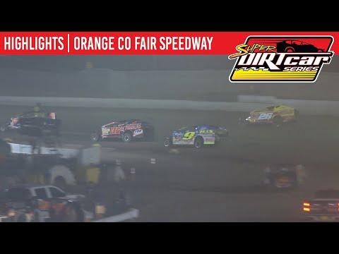 Super DIRTcar Series Big Block Modifieds Orange County Fair Speedway August 15, 2019 | HIGHLIGHTS