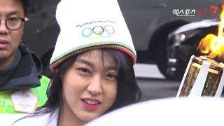 AOA Seolhyun (+ Jimin + WJSN) | Torch Bearers for the Pyeonchang Olympic 2018