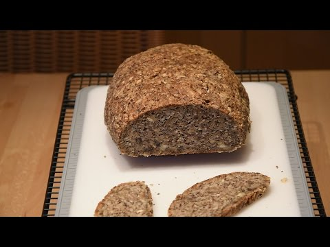 Chia Low Carb Brot Thermomix Tm5 Youtube