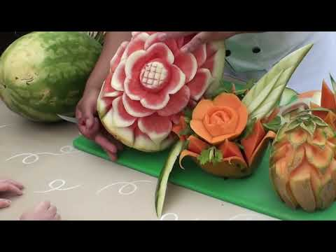 Fruit Carving by Miguel