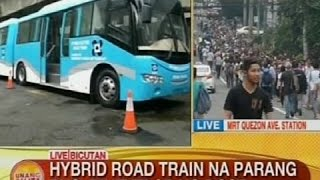 UB: Hybrid road train na parang bus, dinevelop ng DOST
