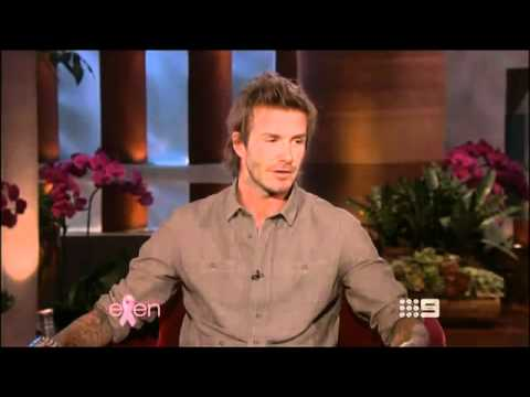 David Beckham Ellen Degeneres Interview Oct 2010
