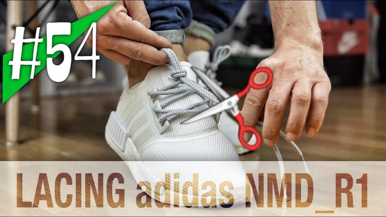 a648ffeb4457ff  54 - 3 WAYS LACING YOUR adidas NMD R1 - shortening  on feet - sneakerkult