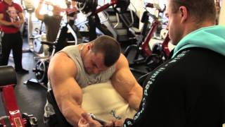 Dávid Oravec - príprava na sezónu 2015 v Mozolani Fitness ZOC MAX Žilina