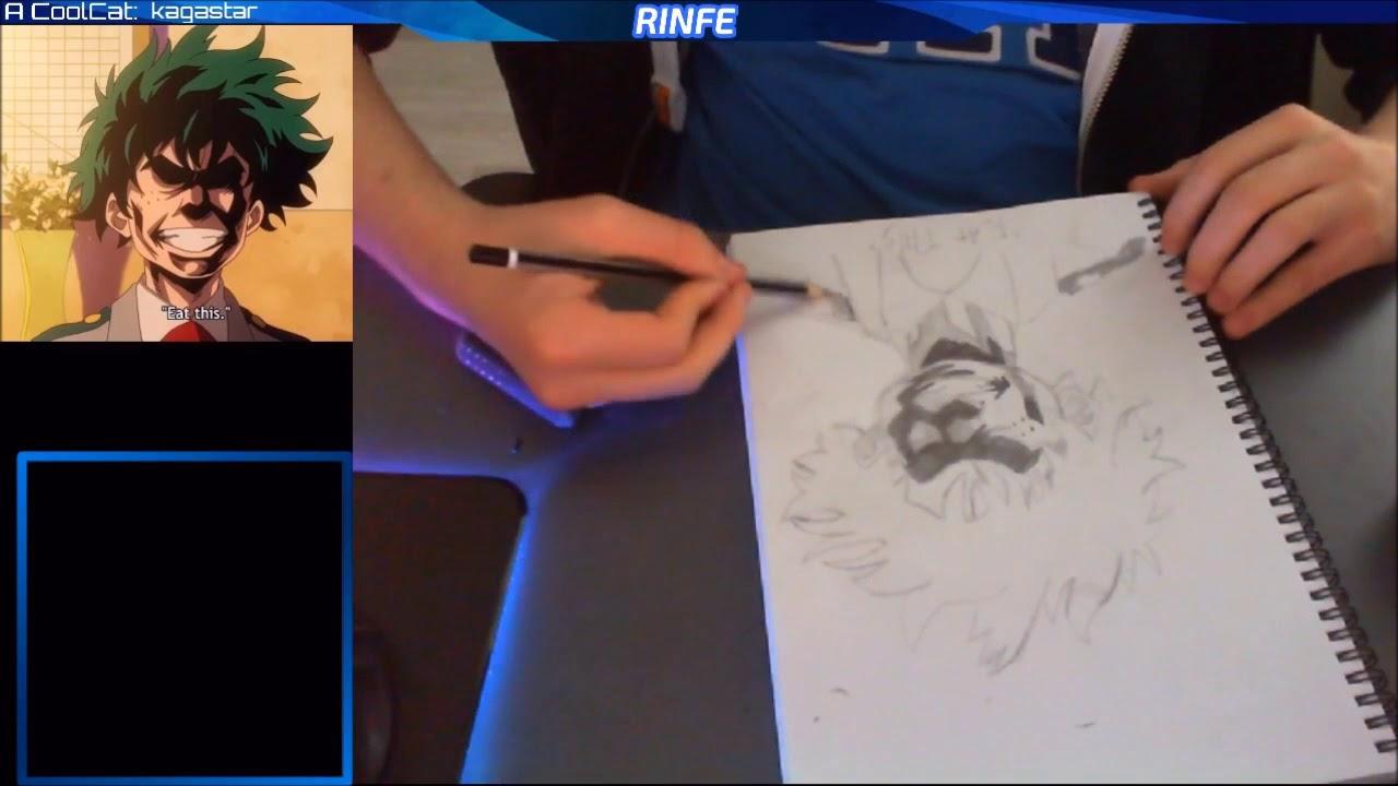 Speed Drawing Izuku Deku Midoriya S Eat This Face