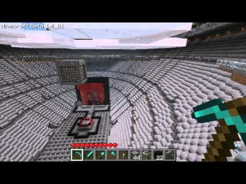 WWE Raw Arena In Minecraft