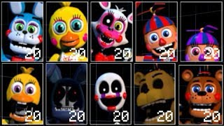 Download Ultimate Custom Night Unwithered Animatronics Mod