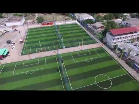 สนามฟุตบอลหญ้าเทียม Villa Football Club By GreenyGrass