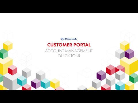 Customer Portal – Account management animated demo