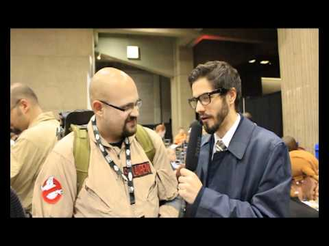 $1500 for a Proton Pack? Ghostbuster Cosplay - Montreal Con