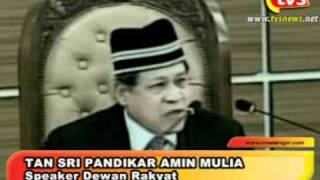 TVSelangor09 05042011 Tayangan Video Seks Di Dewan Rakyat Langgar Peraturan   Speaker