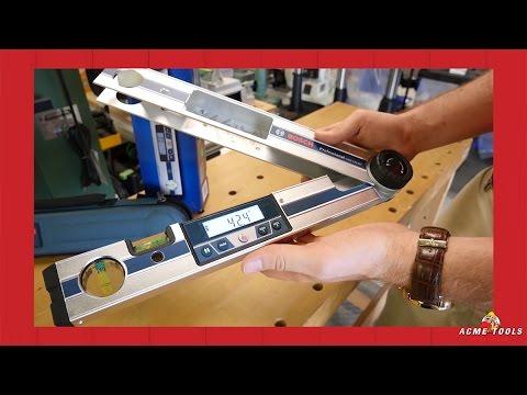 Bosch Gam 220 Mf Angle Finder Youtube