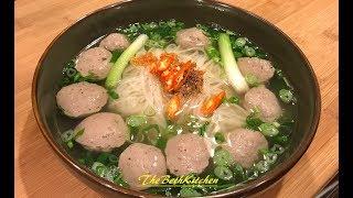 How to make Vietnamese Beef Meatballs - Bo Vien
