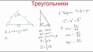 Смотреть видео формулы по геометрии