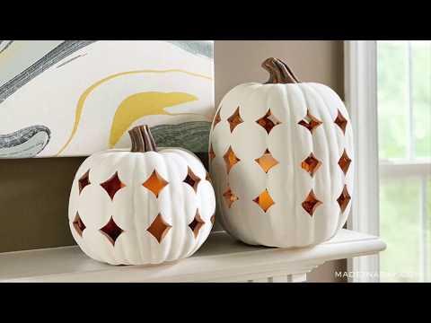 Shimmering Boho Pumpkin Luminary Lanterns  ~Moroccan Style Pumpkin Lanterns
