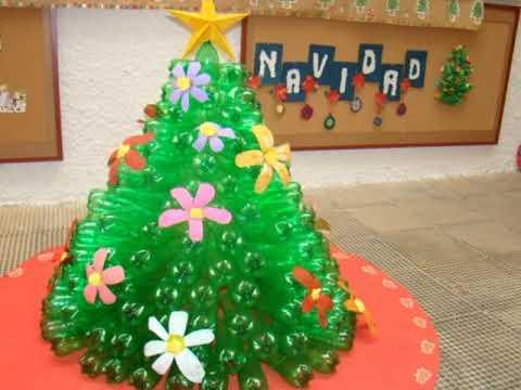 Arboles Para Decorar Aulas.Decoracion De Navidad Para El Aula De Infantil