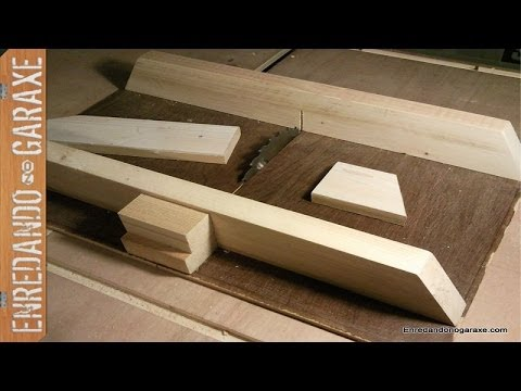 Capinter a escuadrar cortar madera a 90 grados table - Herramientas para cortar madera ...