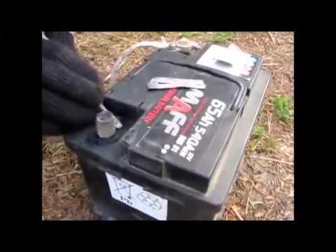 Ремонт клеммы авто аккумулятора