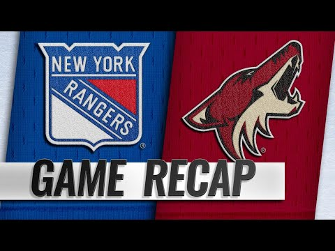 Garland, Coyotes shut out Rangers, 5-0