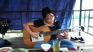 tình ca du mục Le Temps Des Fleurs guitar