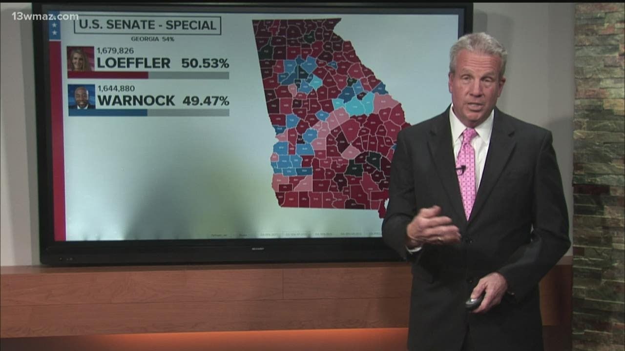 GEORGIA US SENATE ELECTION 2021: Perdue leads Ossoff as of 9:45 p.m.