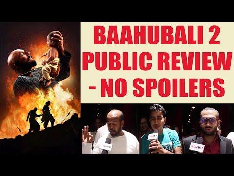 Baahubali 2: The Conclusion Public Review | Prabhas | S.S Rajamouli | Rana Daggubati | FilmiBeat