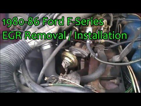 1983 ford f 150 300 engine diagram 1980 86 ford f series egr youtube  1980 86 ford f series egr youtube