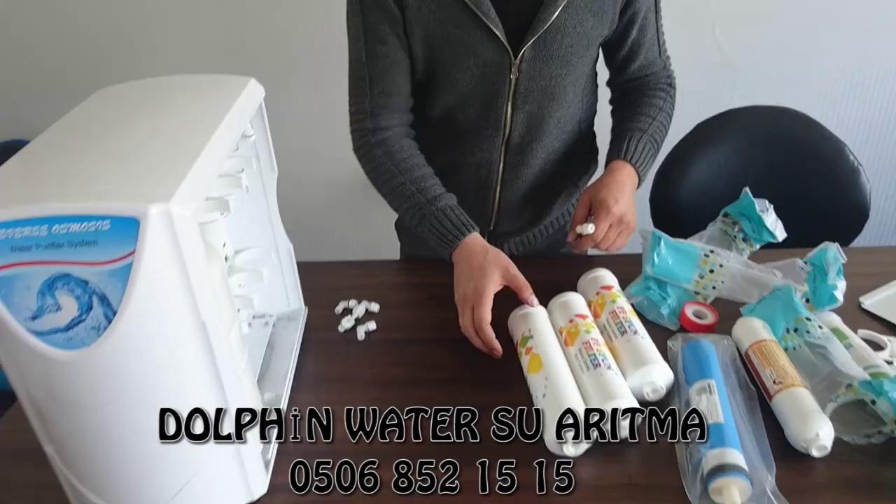 Dolphin Water Kapali Kasa Su Aritma Cihazi Filtre Degisimi