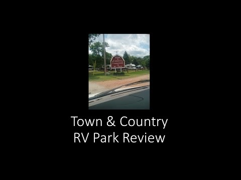 Town & Country Campground/RV Park Review ~ Tips & Trips Video #8
