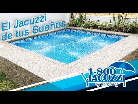 Jacuzzi con sistema de Hidromasaje + Agua temperada + Hidrojets