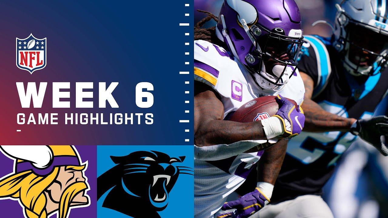 Download Vikings vs. Panthers Week 6 Highlights | NFL 2021