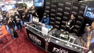 Dj Shortee And Dj Faust NAMM 2013