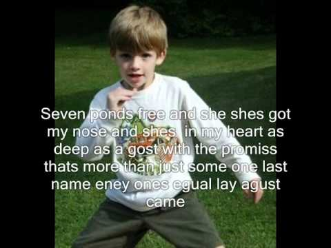 Romulo Baba American child lyrics.wmv