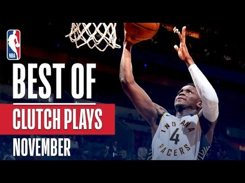 NBA's Best Clutch Plays | November 2018-19 NBA Season