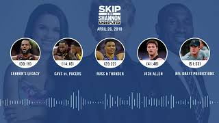UNDISPUTED Audio Podcast (4.26.18) with Skip Bayless, Shannon Sharpe, Joy Taylor | UNDISPUTED