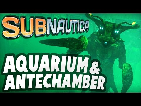 Subnautica - INSIDE AQUARIUM & ANTECHAMBER: Primary Containment Facility Updates - Subnautica Update