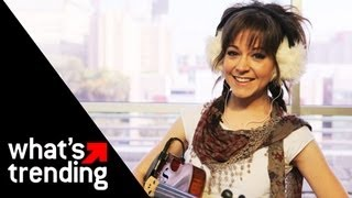 Lindsey Stirling Performs 34 Celtic Carol 34 Live Exclusive